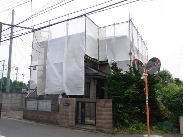 戸建住宅 外装修繕工事